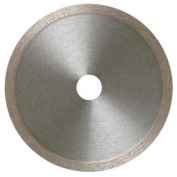MK Diamond 159103 MK-99 25cm Wet Cutting Continuous Rim Saw Blade with 1.6cm Arbour for Tile and Marble