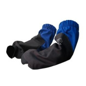 Revco BSX BX9-19S-RB 270ml 48cm Blue Flame Resistant Cotton Welding Sleeves
