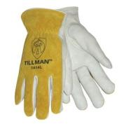 Tillman 1414 Top Grain/Split Cowhide Drivers Gloves, Medium