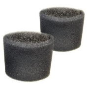 2 Foam Filter Sleeves for Shop-Vac Hardware Store Wet / Dry Vac Series 965-10-00 955-18-00 955-16-00 955-36-00 968-94-00 Vacuums
