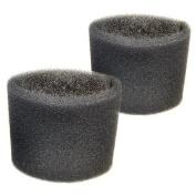 2 Foam Filter Sleeves for Shop-Vac Industrial Series 610-12-10, 610-50-10, 850-01-10, 850-02-10, 970-02-10 Wet Dry Vacuums