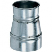 20cm x 23cm Industrial Dust Collection Reducer