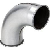 10cm 90 Deg Industrial Dust Collection Long Radius Elbow