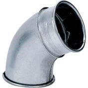 10cm 60 Deg Industrial Dust Collection Elbow
