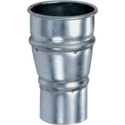 10cm x 7.6cm Industrial Dust Collection Reducer