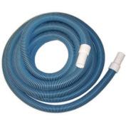 Protech BS112X45 3.8cm x 14m Vac Hose with Swivel Cuff - Blue / Black