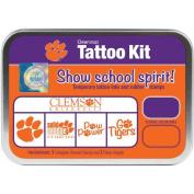 (Price/set)ColorBox CS19622 Clemson University Collegiate Tattoo Kit