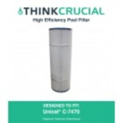 Pool Filter Replaces Unicel C-7470 & Pleatco PCC80, Designed & Engineered by Think Crucial