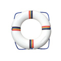 Plastic Ring Buoy for Swimming Pools 50cm with Perimeter Rope