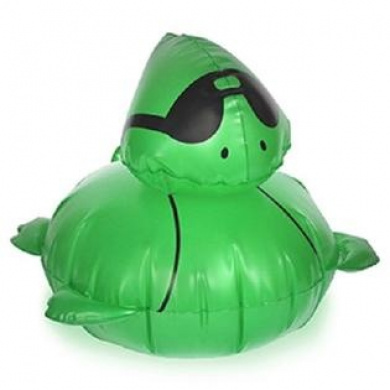 Solar Glo 36cm Duck or Turtle Inflatable (Turtle)