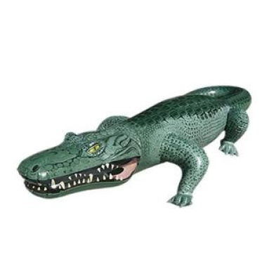 160cm L X 70cm W X 30cm H Inflatable Crocodile,Inflatable Alligator,Large  Inflatable Outdoor Play