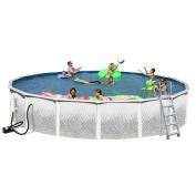 5.5m x 120cm Heritage Opal Round Pool Package