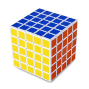 ShengShou 5x5x5 Speed Cube Speedcubing Twist Puzzle Toy Game Collection Smooth White Magic Gift for Kids Child Adult Competition