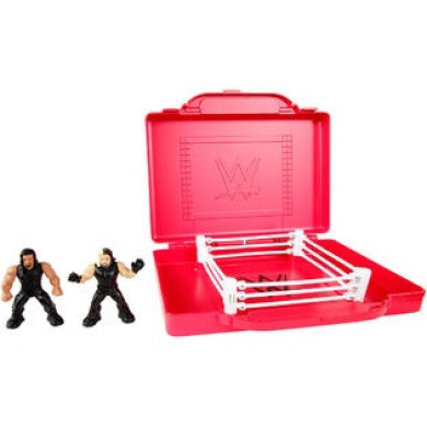 WWE Mighty Minis Portable Mini Ring Playset