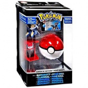 Pokemon TOMY Trainer's Choice Catch 'n' Return Poke Ball Samurott & Poke Ball