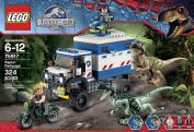 New Lego Jurassic World Raptor Rampage 75917 Building Kit From Japan