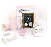 Paper Eskimo Classroom Kit for Parties, Blush Pink Chevron