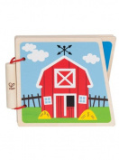 Hape At the Farm Wooden Book E0030-DISC