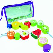 Meadow Kids Fruit Salad Wooden Threading Beads
