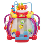 Techege Happy Small World Learn'n'Play Kids Fun Cooperative Game Share The Joy Great Gift Fun Lights and Sounds