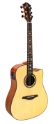 Hohner Guitars A+ by Hohner AS355CE-NS Acoustic-Electric Guitar, ,