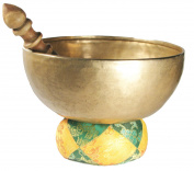 Hand Hammered Tibetan Meditation Singing Bowl 18cm