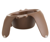 Petego Yoga Pet Bowl, Large, Brown