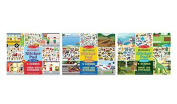 Reusable Sticker Pad Bundle - Habitats, Vehicles and Town