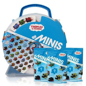 THomas & Friends Minis Collectors Playwheel Storage Case includes Mini Golden Thomas and 3 Packs of Blinds