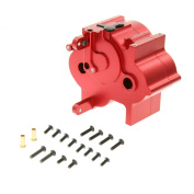 GPM Racing Alloy Centre Gear Box for 1:8 HPI Flux + Other HPI Models, Red