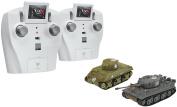 VS Tank A03102666# VSX Tiger I/Sherman IR Battle Tank Set (1/72 Scale) VSKC1013 VsTank