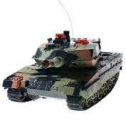 Forest Camo M1 Abrams R/c Tank With Fighting Infra Red Shooting