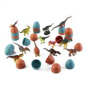 3D Dinosaur Puzzle in Jurassic Egg Educational Assembly Kit