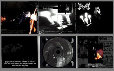 Mayhem Live In Leipzig  [CD Digipak]
