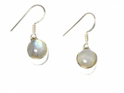 MOONSTONE Sterling Silver Earrings 925 -