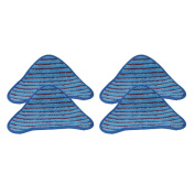 4 Hoover Scrubbing WH20200 Steam Mop Pads Part # WH01000