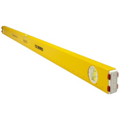 Stabila 29148 120cm Measuring Stick Level with 3 Layout Scales