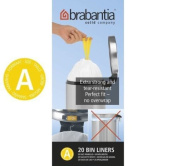 Brabantia Size A SmartFix Perfect Fit Bin Liners 3 Litre 40 Bags Roll By Bristol Tool Company