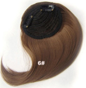#6 Synthetic Hair Clip In/On Side Hair Fringe/Bangs