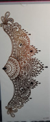 Tattoo stikcers for ladys'chest Jewellery totem design