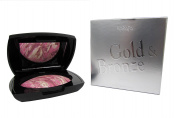 Karaja Gold and Bronze Face Powder Number 18, Purple Pink