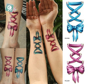 Body Art Temporary Removable Tattoo Stickers Red Butterfly Sticker Tattoo - FashionLife