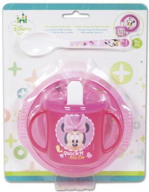 BoyzToys Minnie Mouse Baby Set (3-Piece)