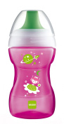 MAM Baby Products Fashion 62836822 Learn To Drink Cup Girls 270 ml Pink