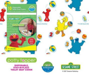 Neat Solutions Potty Topper - Sesame Street - 10 count --