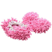One Pair Multi-Function Chenille Fibre Washable Dust Mop Slippers