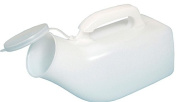 Economy Male Urinal Bottle With Lid