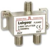 SPLITTER 2-WAY UHF 5-1000MHZ FJU402 By LABGEAR