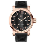 Oceanaut Men's Loyal Silicone Strap Stainless Steel Watch