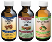 De La Cruz Argan Oil + Jojoba Oil + Avocado Oil
